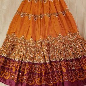 Beautiful boho skirt